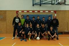 Starší žáci na turnaji v Unhošti (září 2017, 4. místo